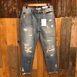 NWT, KanCan Relaxed Fit Jeans